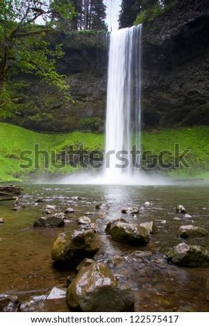 Western Waterfalls 23 - stock photo