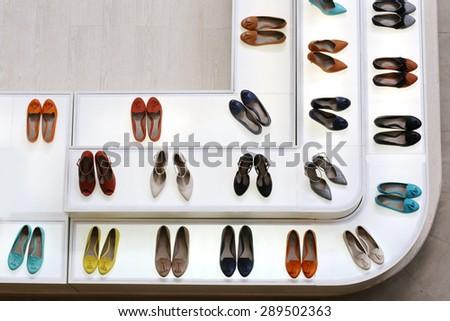 women High-heeled shoe - stock photo