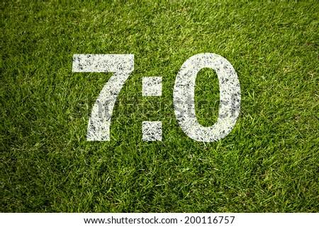7:0 - stock photo