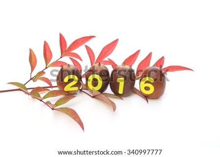2016 - stock photo