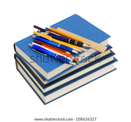 A back to school concept - stock photo