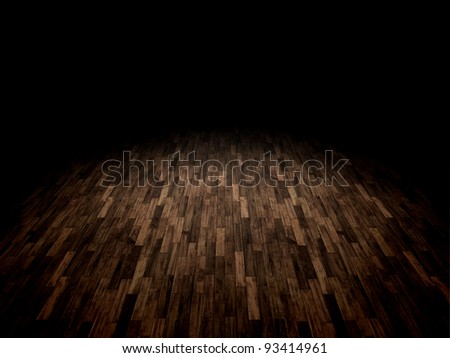 A background image of a wooden parquet floor - stock photo