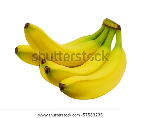 A banana bunch - stock photo