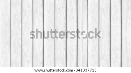 A banner background made of white painted wood - stock photo