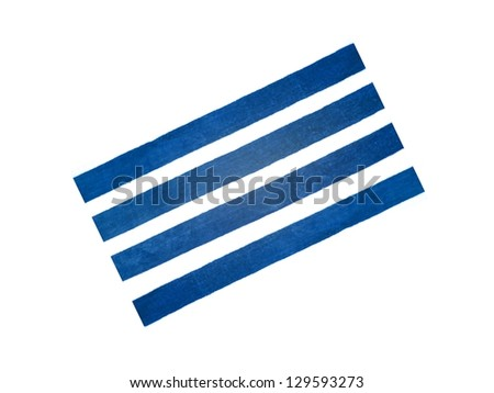 A beach towel isolated against a white background - stock photo