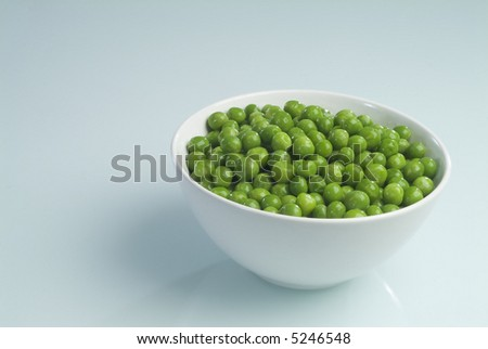 A beans plate (Kidney bean) - stock photo