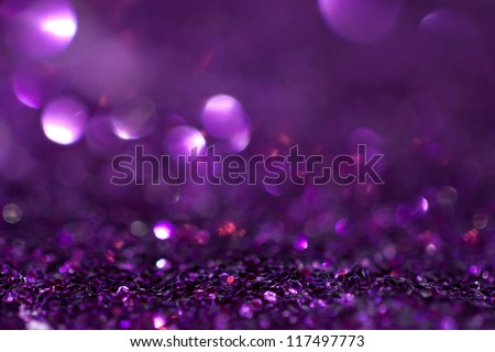 A beautiful purple glitter background - stock photo
