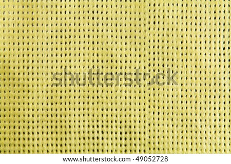 A blank grungy canvas texture. Great for backgrounds. - stock photo