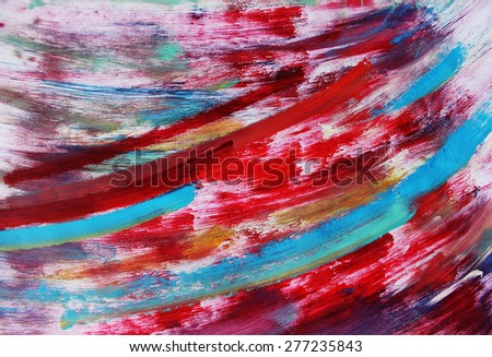 a Blue line background or Creative background, Colorful background - stock photo