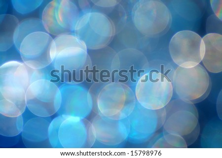 A bokeh background perfect for the holidays. - stock photo