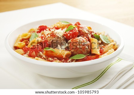 Penne With Eggplant, Tomato & Basil Recipes — Dishmaps