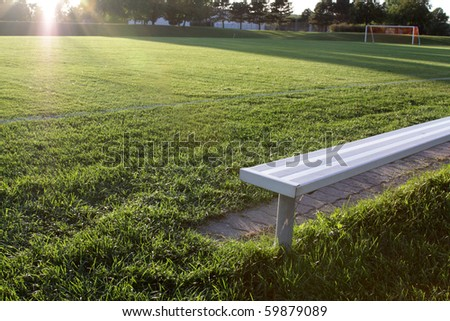 Football Bench Stock Photos Images Pictures Shutterstock