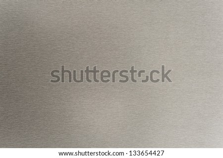 A brushed metal texture for your backgrounds - stock photo