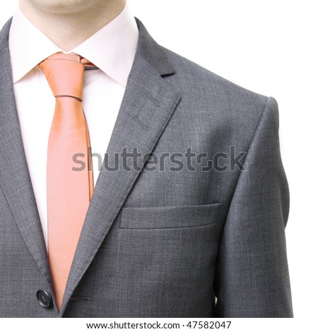 A business man in a suit - stock photo