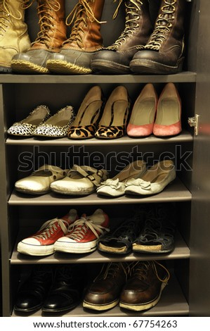 a cabinet - stock photo