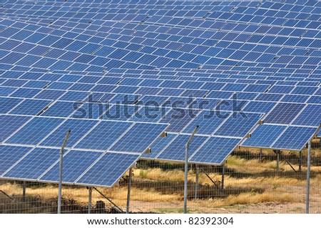 a central solar - stock photo