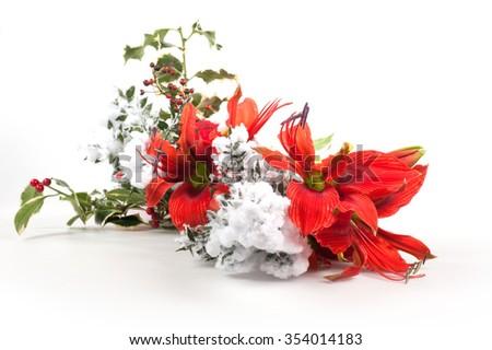 a Christmas gift - stock photo
