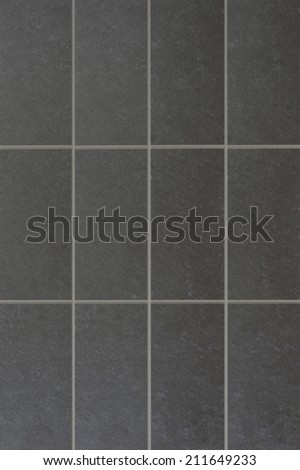 A close up shot of a ceramic tile - stock photo