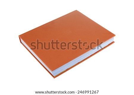 A close up shot of a reading book - stock photo