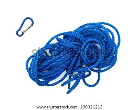A close up shot of a  rope - stock photo