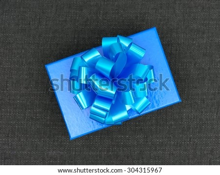 A close up shot of a special gift - stock photo