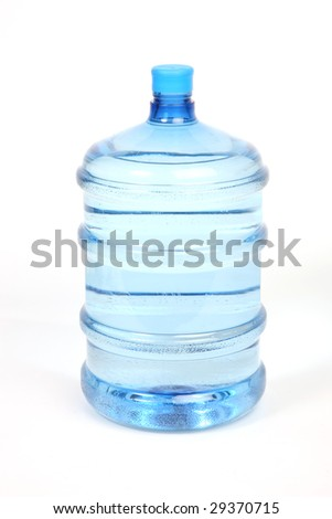 a close up shot of a water bottle - stock photo
