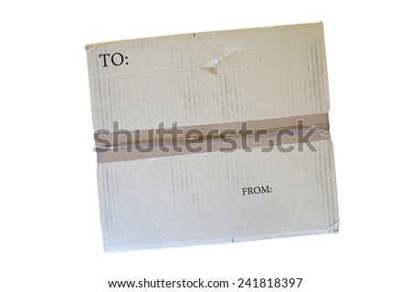 A close up shot of packaging equipment - stock photo