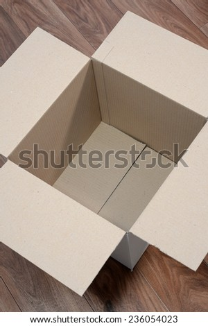 A close up shot of packing items - stock photo