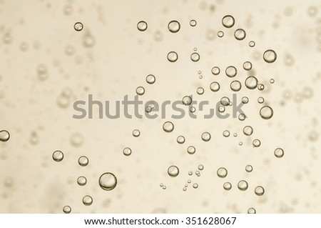 A cold wine in a crystal glass - stock photo