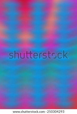 A colorful blurry psychedelic tie dye background. - stock photo