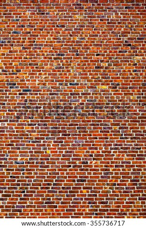 A colorful brick wall texture - high quality texture. - stock photo