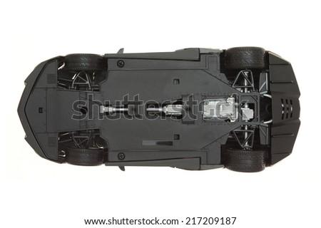 A conceptual image go sports super car - stock photo