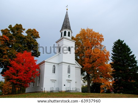 A Country Church 2 - stock photo