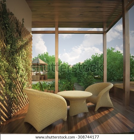 Veranda Stock Photos Images Pictures Shutterstock