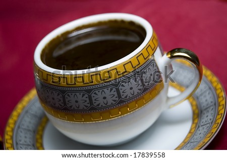 A Cup of Turkish Coffee - stock photo
