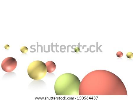 A 2d conceptual illustration on a plain background - stock photo