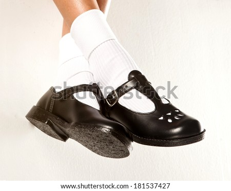 school shoes stock photos images pictures