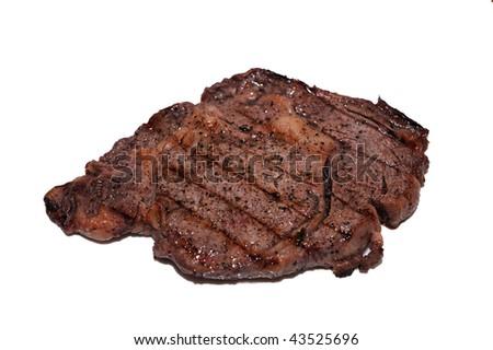 A delicious steak - stock photo