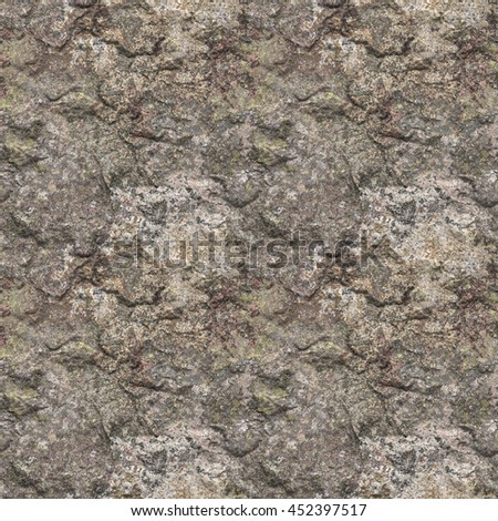 A digitally created seamless tile of rock texture. - stock photo
