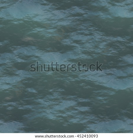 A digitally created seamless tile of water texture.  - stock photo