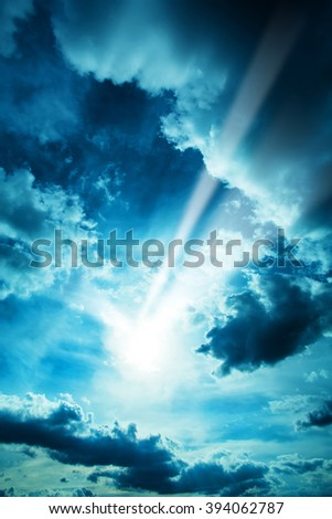 A dramatic Sky background.