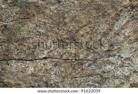 A fragment of stone mountain - stock photo