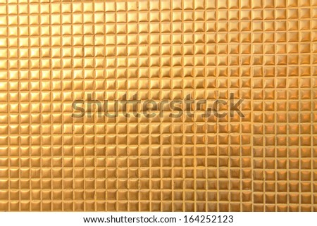 a gold metal texture line for background - stock photo