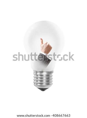 A good idea as a concept - stock photo
