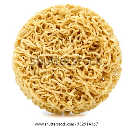 A instant noodle - stock photo
