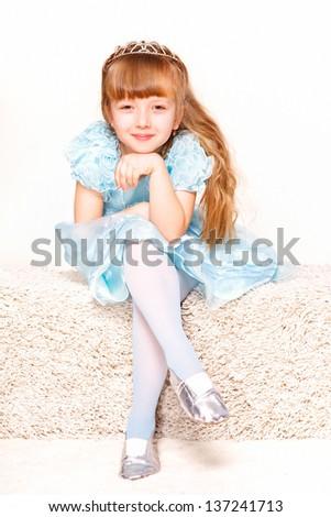 A Little Princess - stock photo