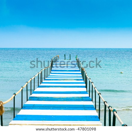 A lone way to nowhere - stock photo