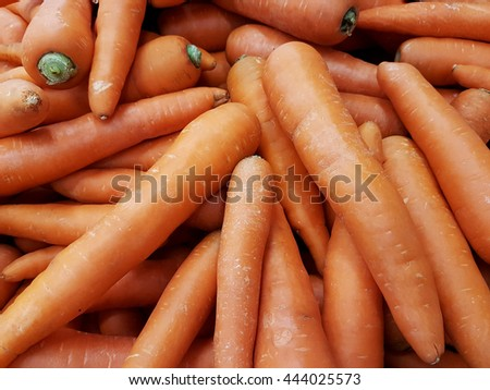 A lot of carrots - stock photo