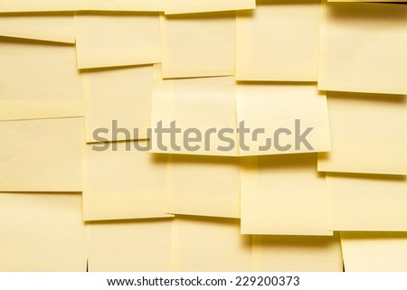 a lot of stickers on the wall. concept - stock photo
