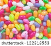 A mount of jelly beanes. Can use as background. Multi corored - stock photo